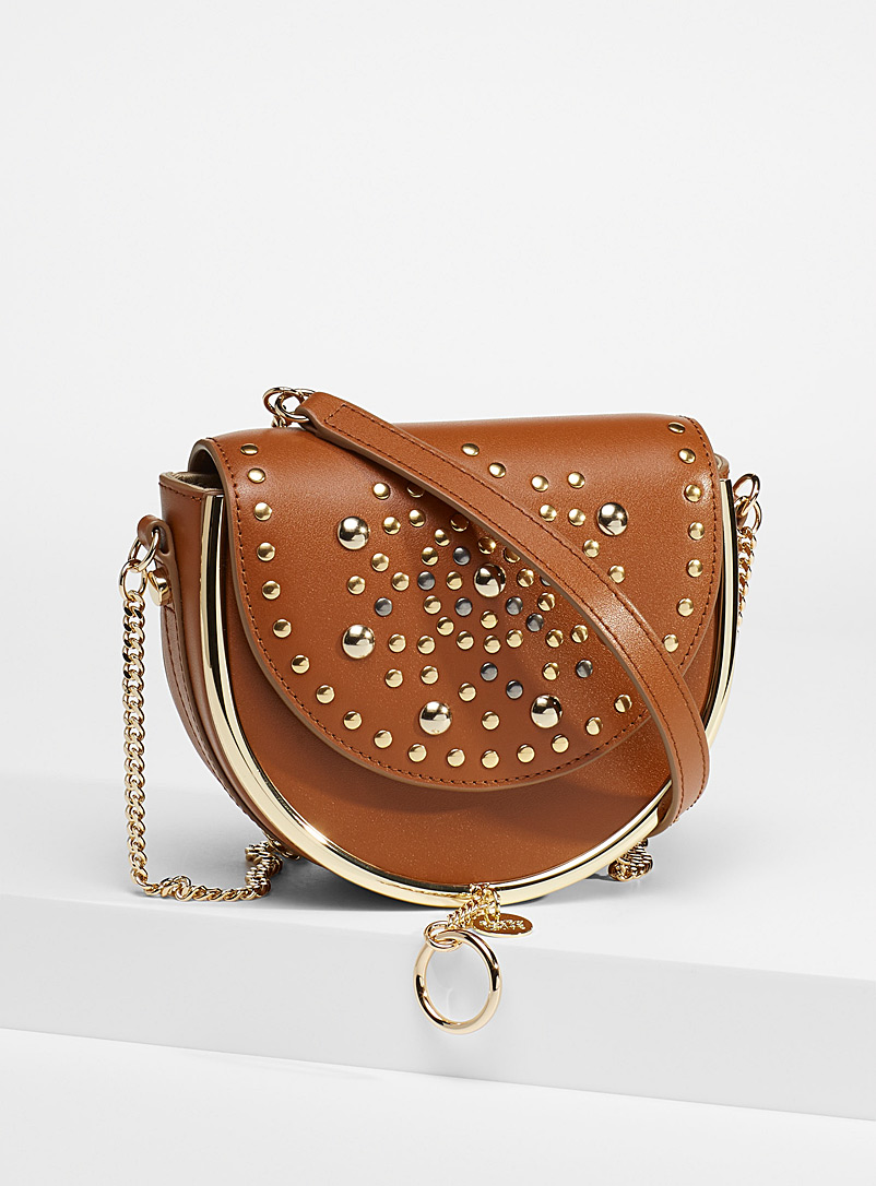 See by Chloé Fawn Mara studded evening bag for women