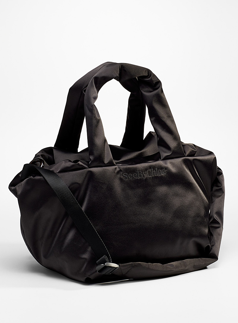 See by Chloé Black Tilly tote bag for women