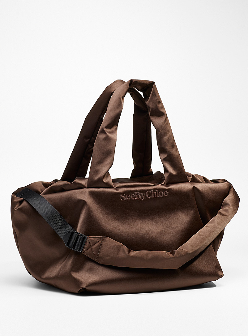 See by Chloé Dark Brown Tilly tote bag for women