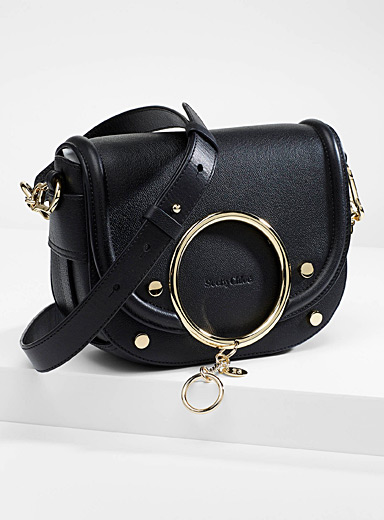 See by Chloé Black Mara bag for women