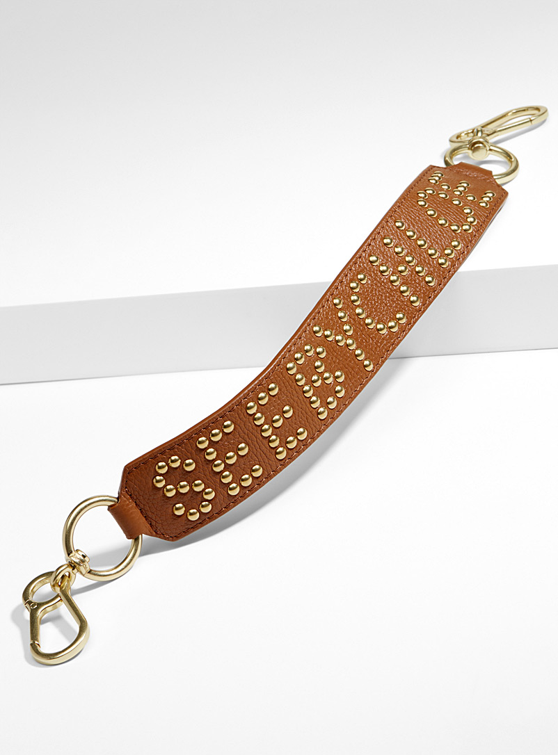 Studded signature strap - See by Chloé - Brown