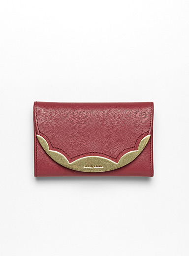 Pink Brady small wallet