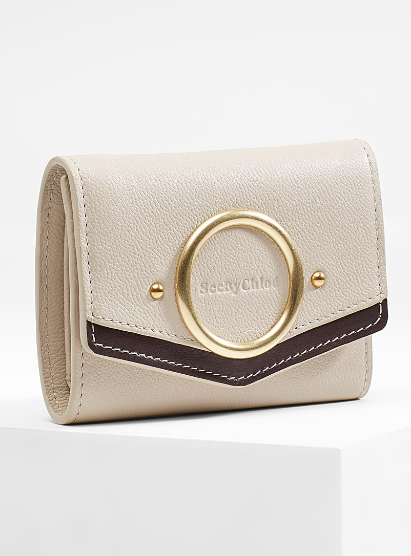Aura wallet - See by Chloé - Cream Beige