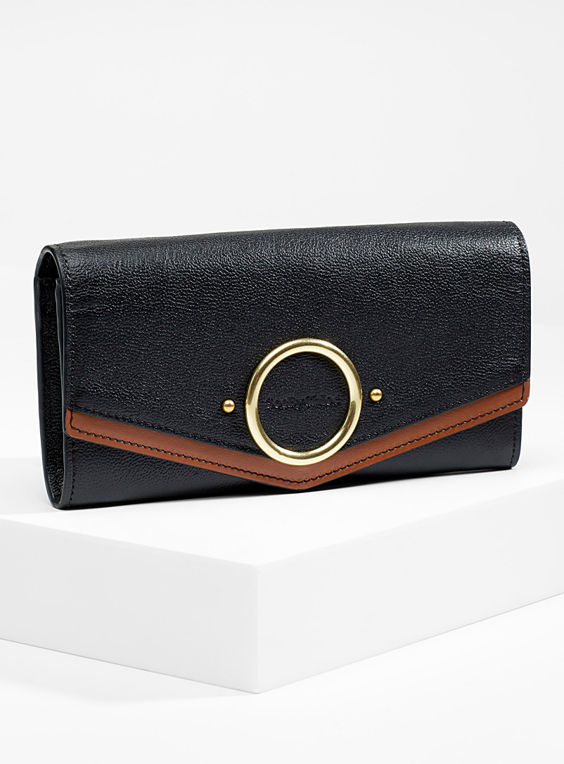 Aura long wallet - See by Chloé - Black