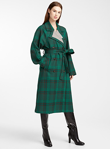 Prince of Wales trench coat