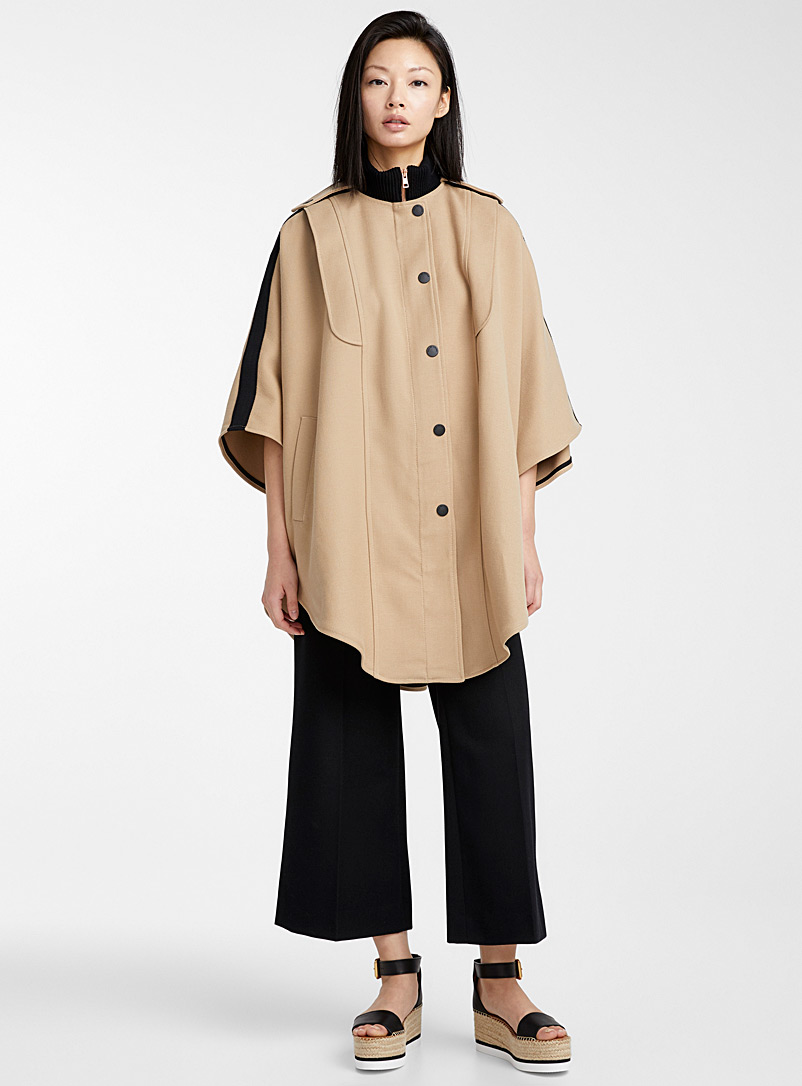See by Chloé Honey Urban cape for women