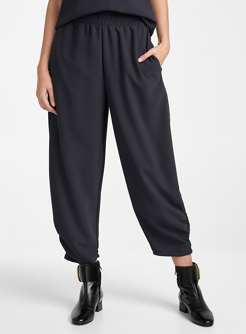 See by Chloé Oxford Fluid crepe pant for women