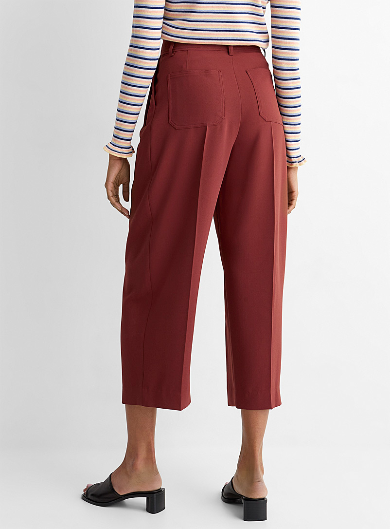 See by Chloé Fawn Casual cropped pant for women