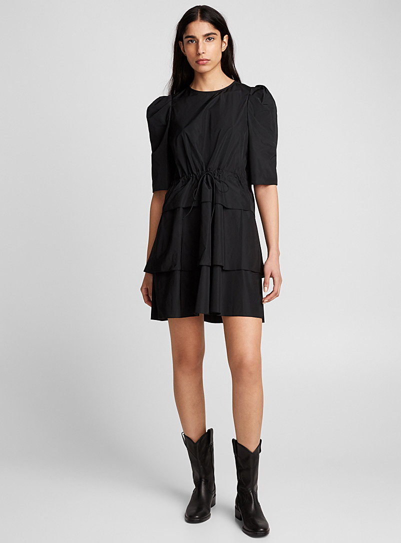 Leg-of-mutton sleeve dress - See by Chloé - Black
