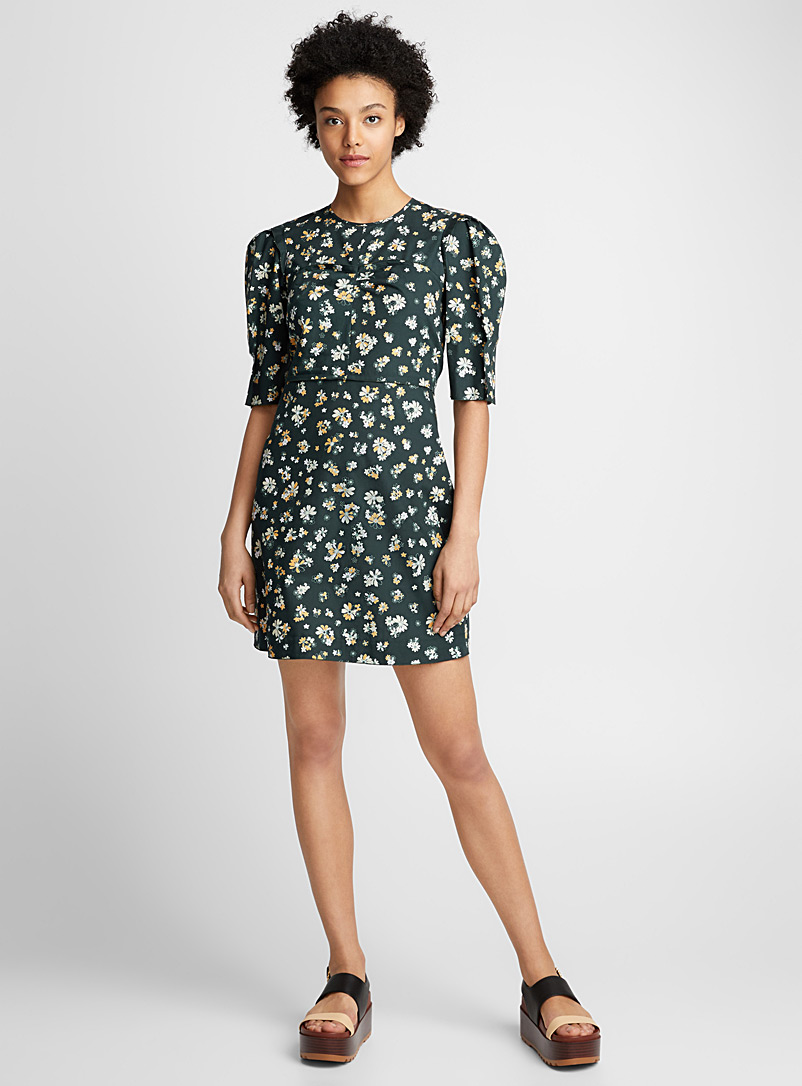 Summer Flowers dress - See by Chloé - Mossy Green
