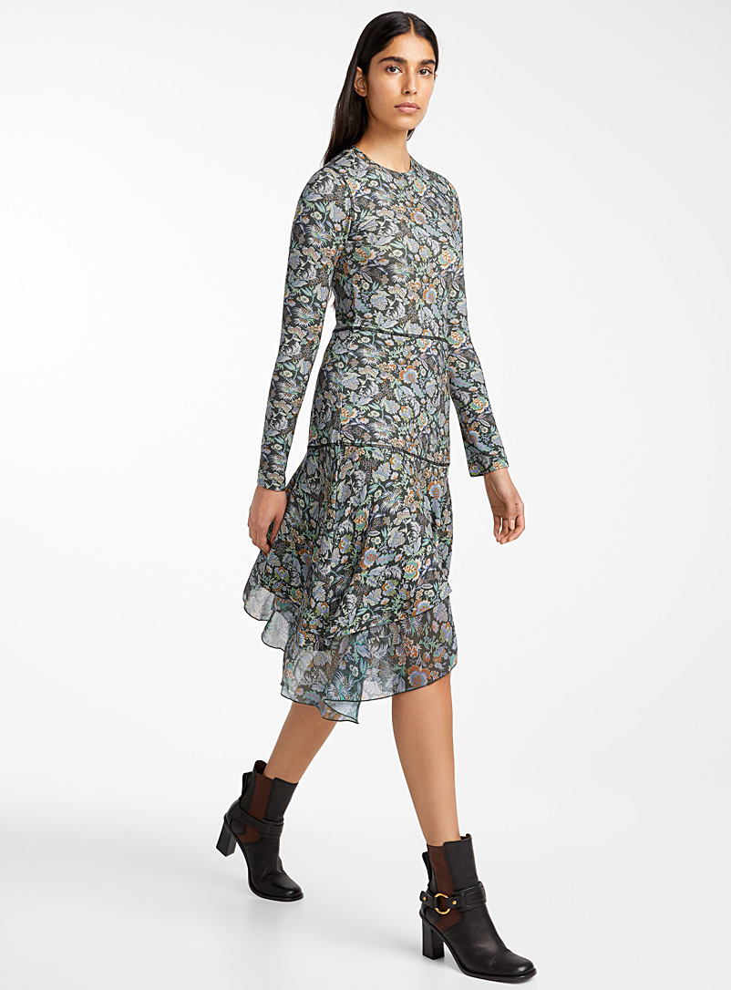 winter-floral-print-dress
