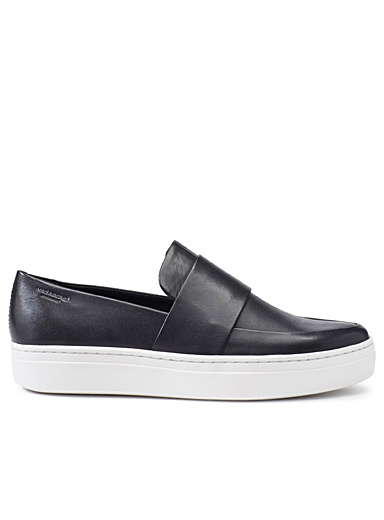 Camille smooth leather sneakers
