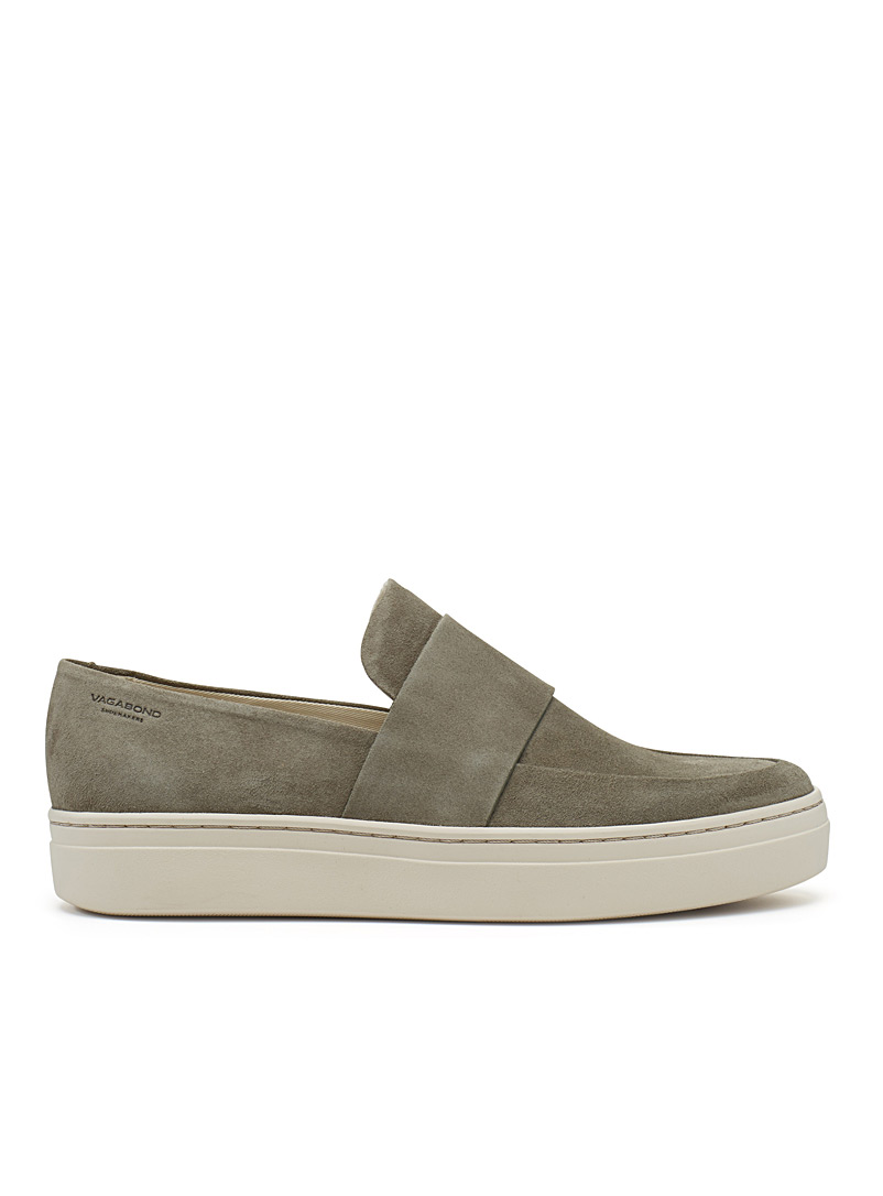 Camille suede sneakers - Sneakers - Khaki