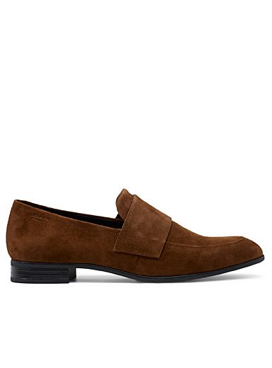 Suede Frances loafers