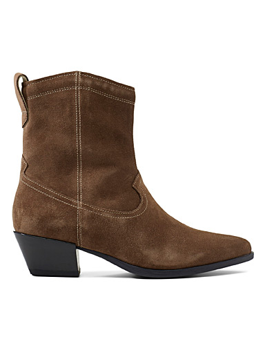 Suede Emily boots