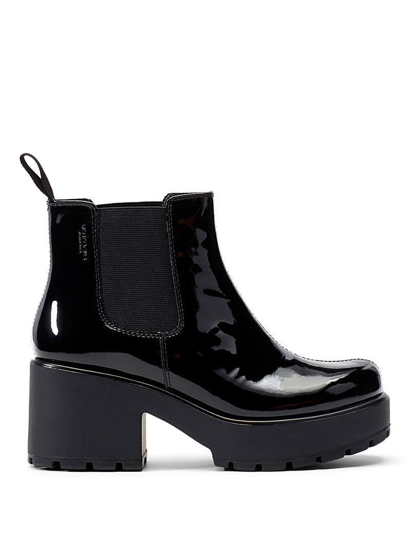 Dioon Chelsea boots - Wedges - Black