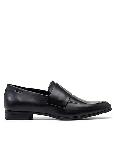 Black Frances loafers