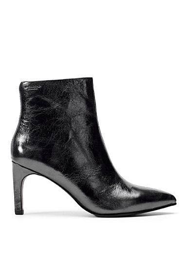 Whitney silver boots