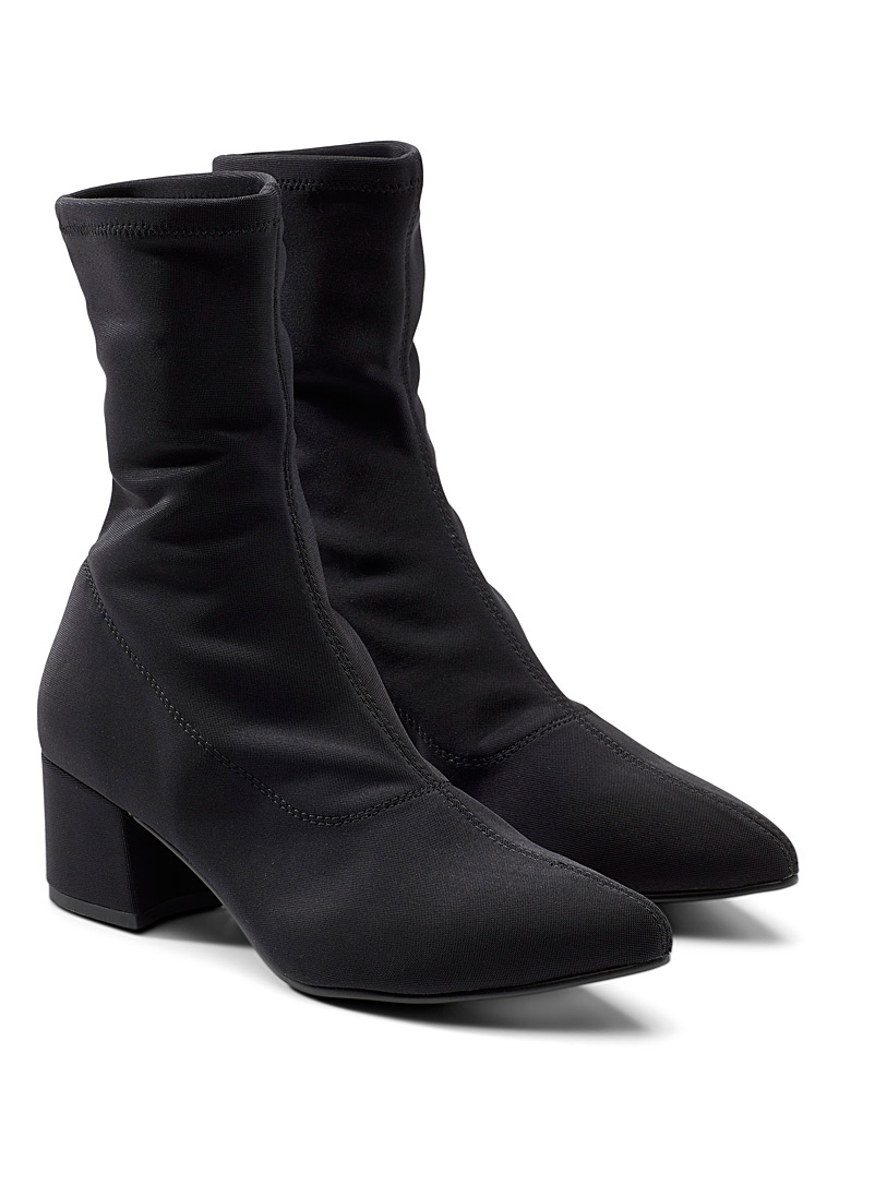 Vagabond Shoemakers Black Mya slim heeled boots for women