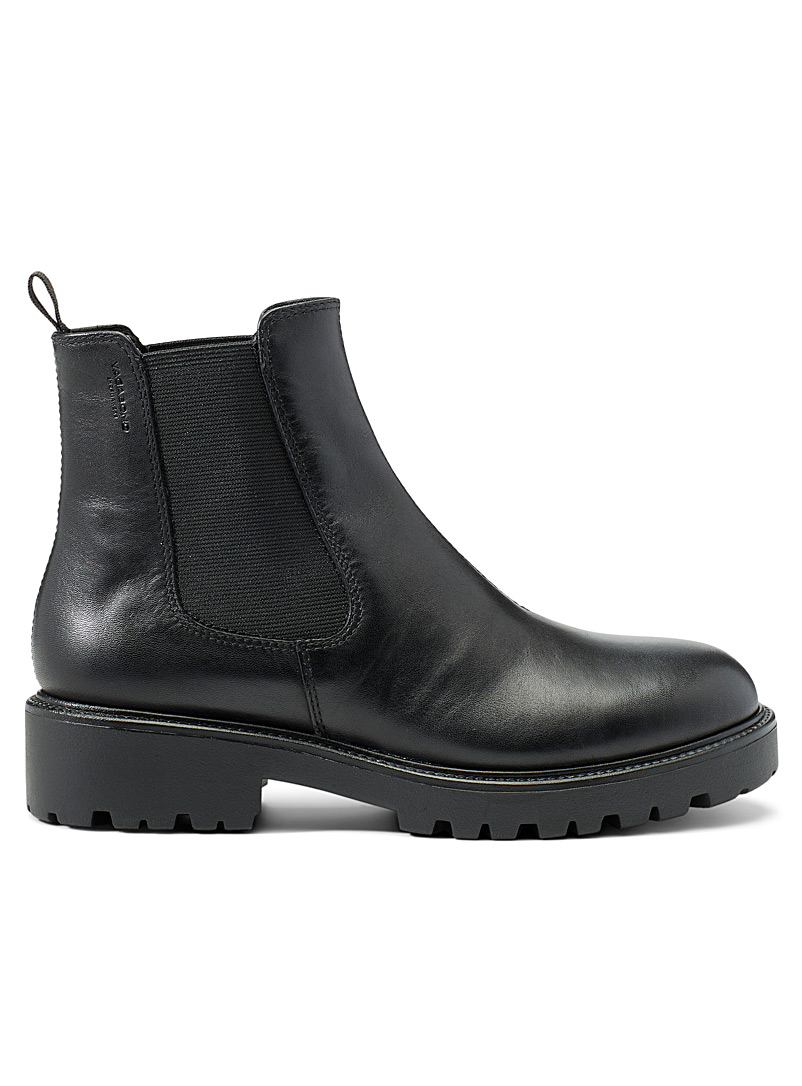 Vagabond Shoemakers Black Kenova Chelsea boots for women