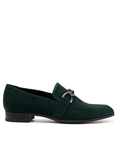 Frances suede loafers