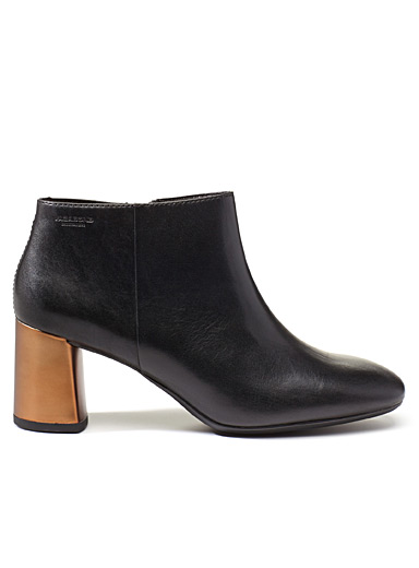 Jeena low-cut heeled boots