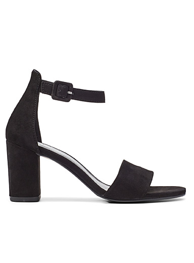 Black Penny heeled sandals