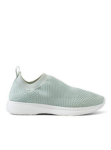 Vagabond Shoemakers Lime Green Cintia slip-on sneakers for women