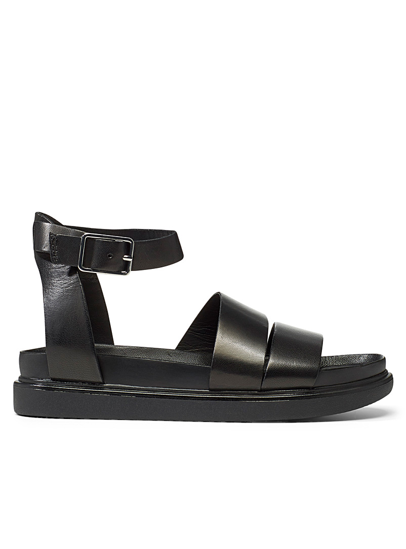 Vagabond Shoemakers Black Erin ankle buckle sandals for women