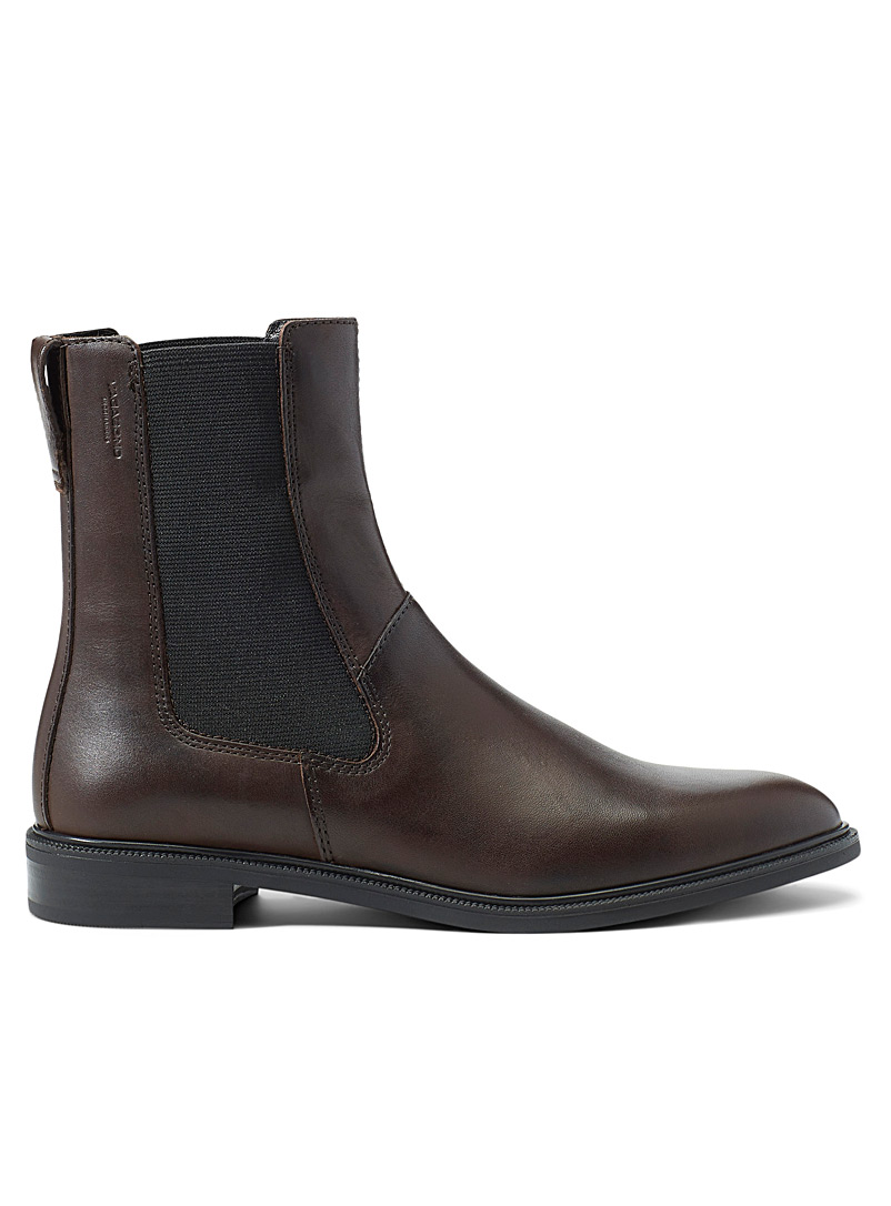 Vagabond Shoemakers Fawn Frances chocolate Chelsea boots for women