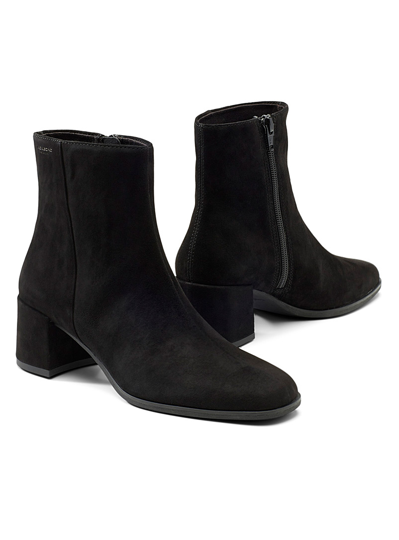 Vagabond Shoemakers Black Stina heeled boots for women
