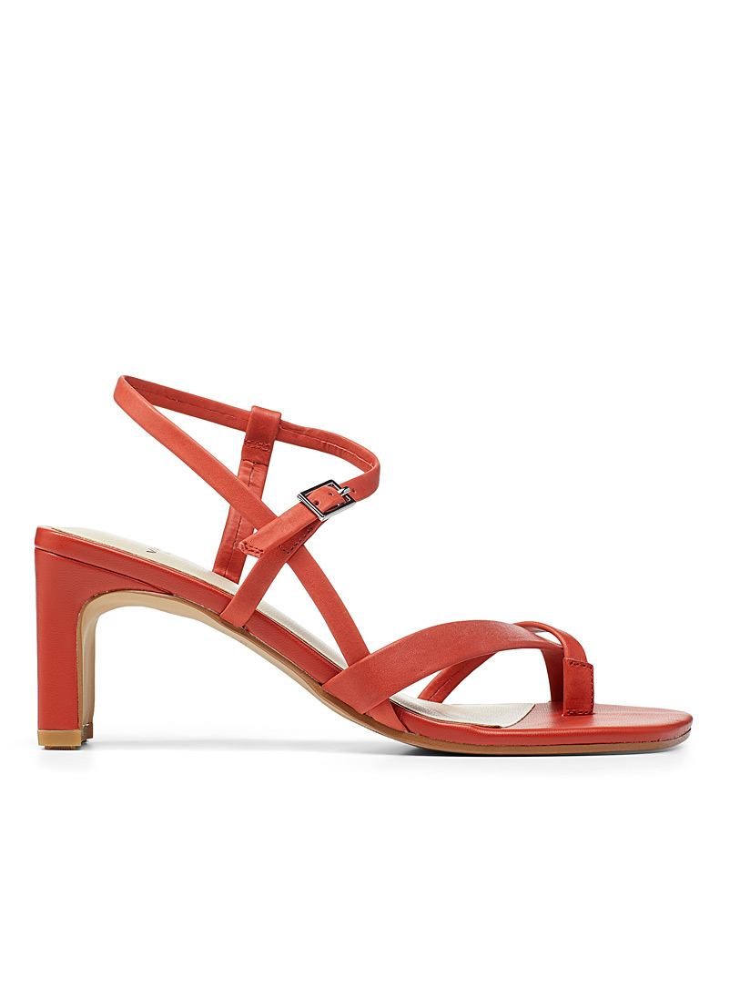 Vagabond Shoemakers Red Luisa heeled sandals for women