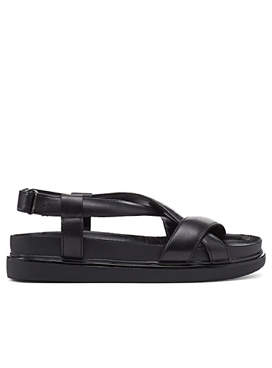 Erin utility leather sandals