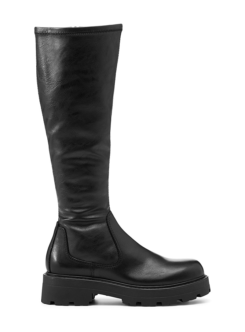 Vagabond Shoemakers Black Cosmo 2.0 knee-high boots Women for women
