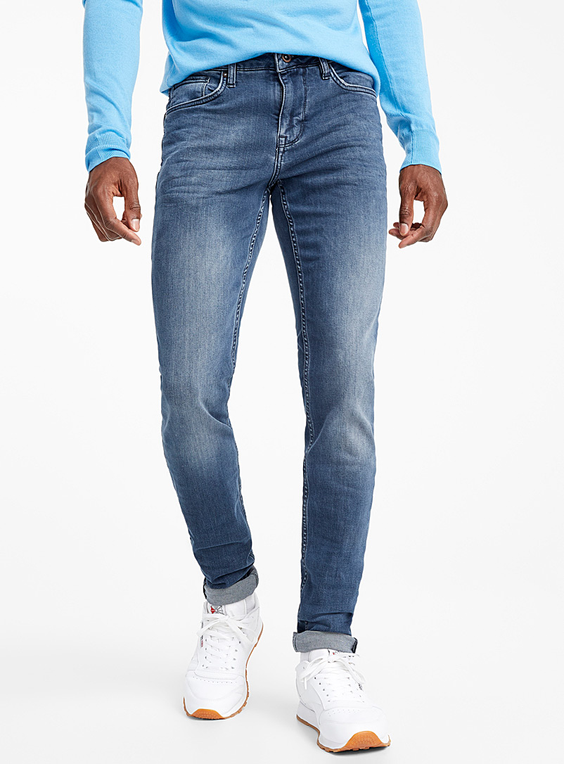 Blue-grey jean  Stockholm fit-Slim - Slim fit - Slate Blue