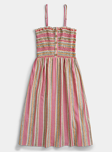 Catalonia stripe sundress