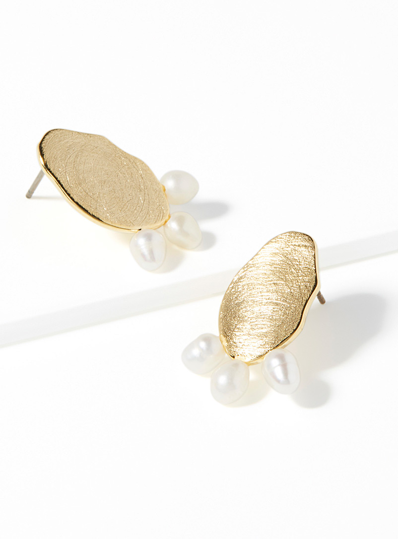 Pearly trio earrings - Earrings