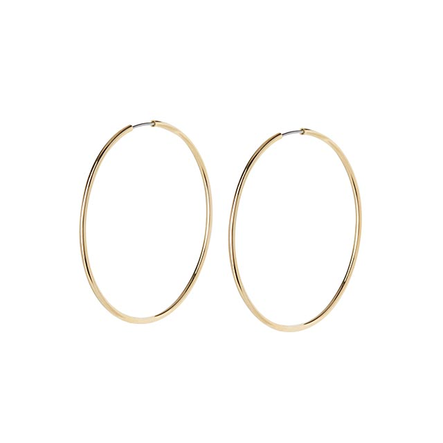metallic-hoop-earrings