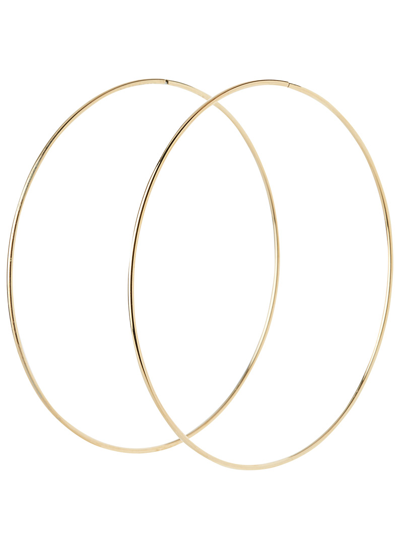 Simons Assorted Oversized hoops for women