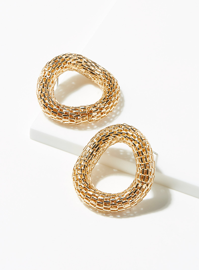 Simons Assorted Infinite link earrings for women