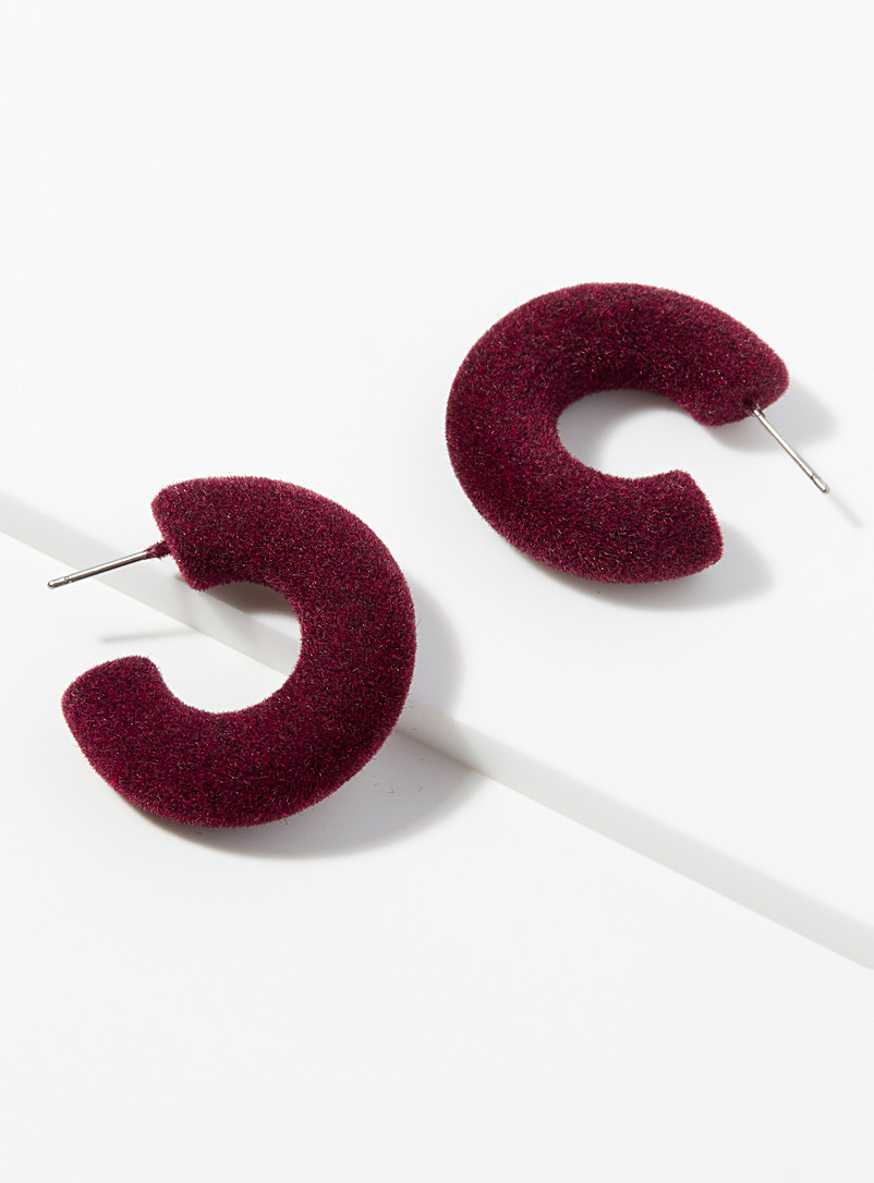 velvety-domed-hoops