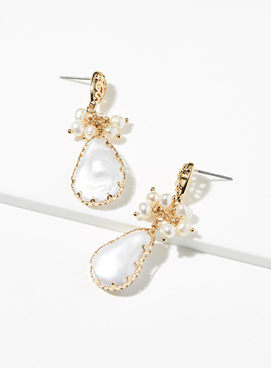 Simons Assorted Opulent pearly earrings for women