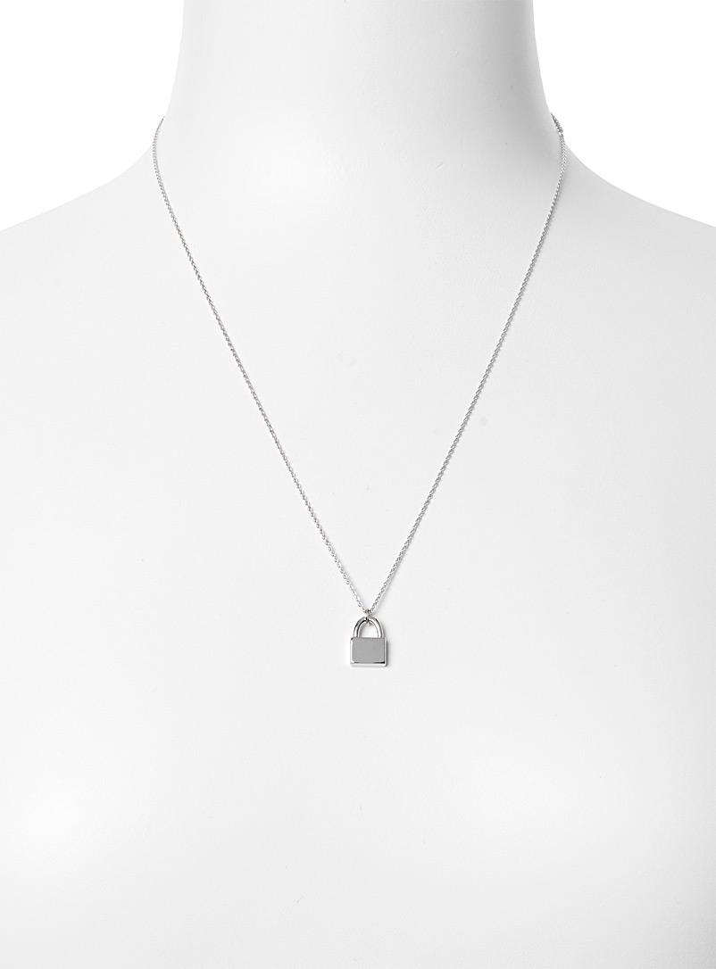 Simons Assorted Mini-lock necklace for women