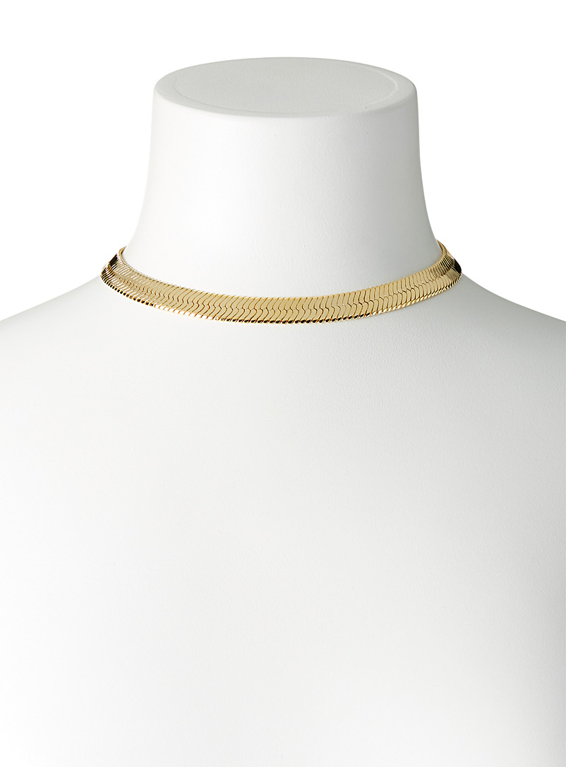 Simons Assorted Large serpent-link necklace for women