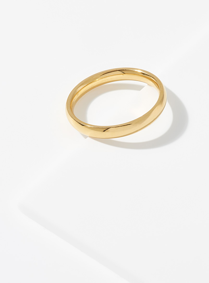 Simons Assorted Oversized simplicity ring for women