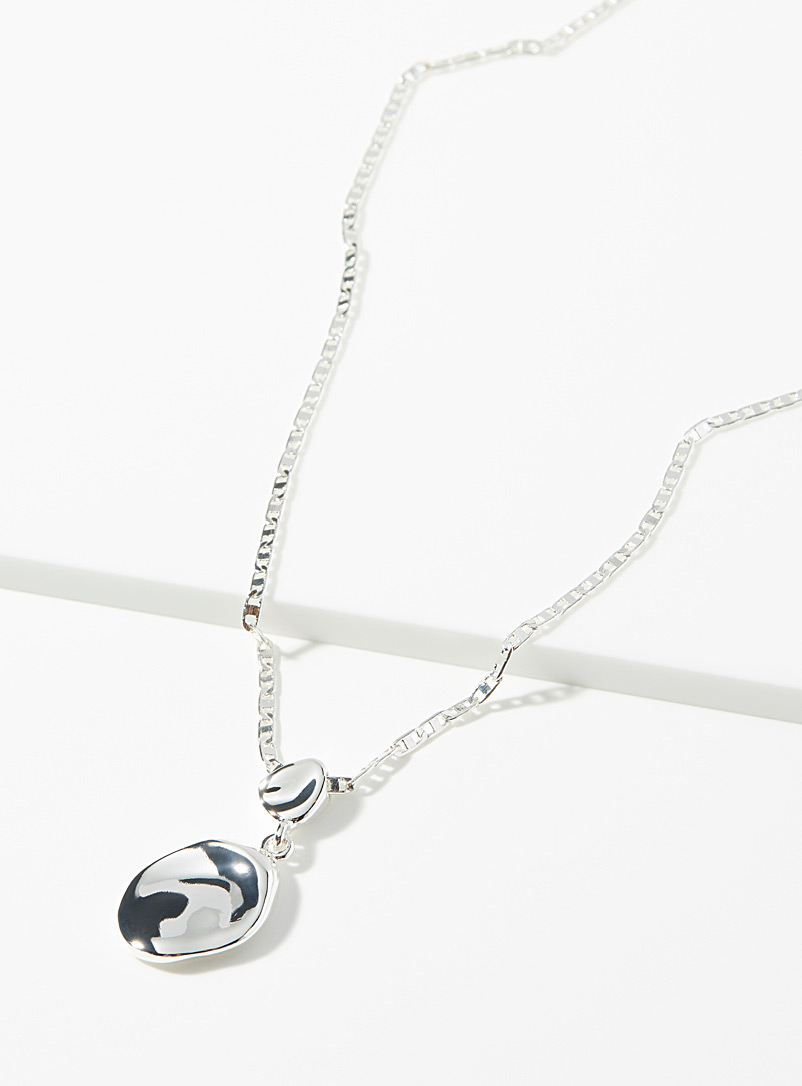 Jenny Bird Silver Thea small necklace for women