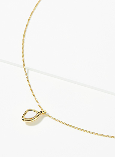 Jenny Bird Assorted gold  Cala pendant necklace for women