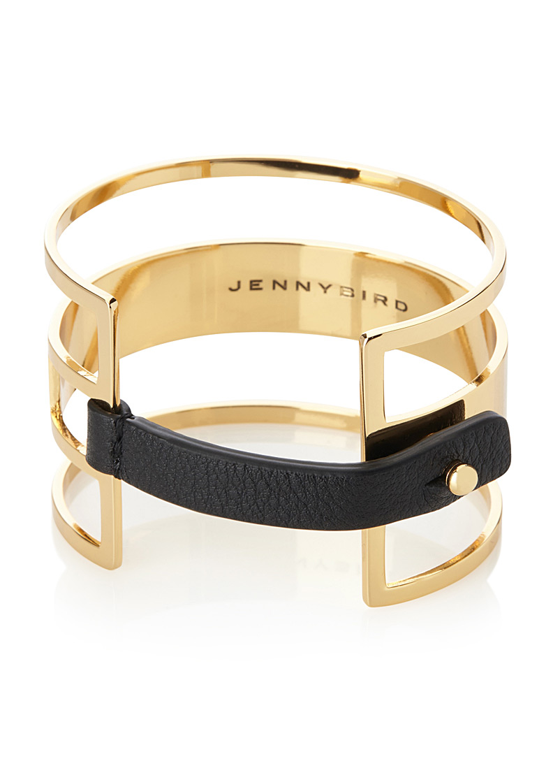 Jenny Bird Golden Yellow Ryder cuff for women