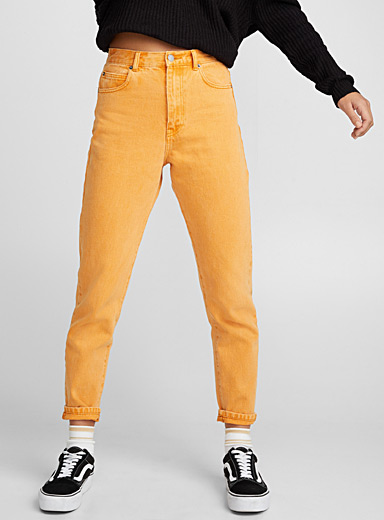 Nora orange mom jean