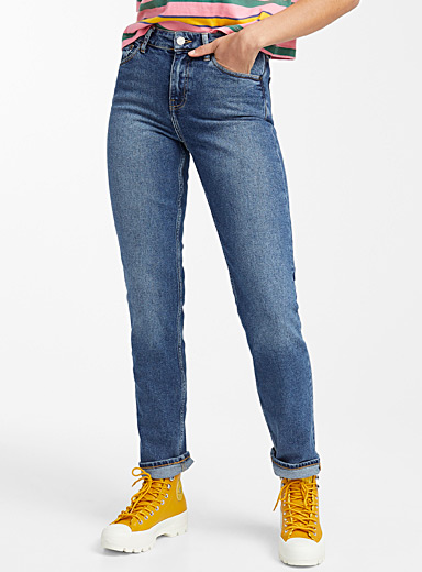 Stevie medium blue dad jean